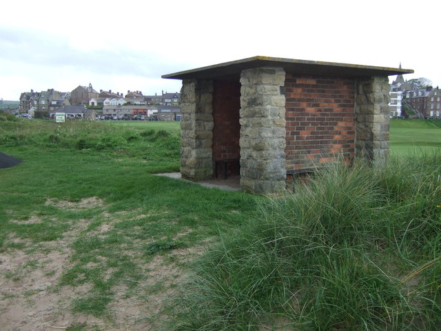 Beach shelter, Alnmouth