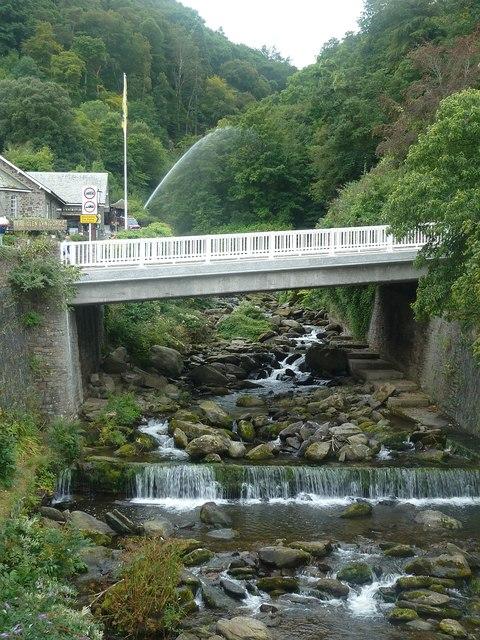 Lynmouth - Glen Lyn Gorge - southern end