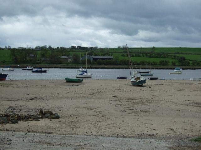 The River Aln, Alnmouth