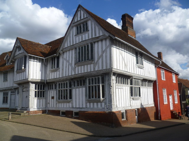 Part of Lavenham Guildhall