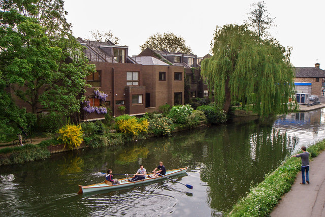 Rowing on the Cam