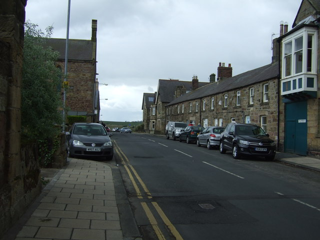Northumberland Street, Alnmouth