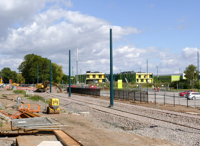 Tramway at Highfields Science Park