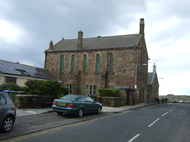 Hindmarsh Hall, Alnmouth