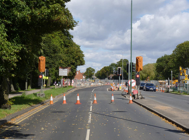 University Boulevard without traffic