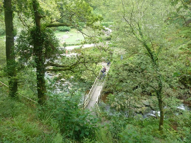 Bridge over Hoar Oak Water, Watersmeet