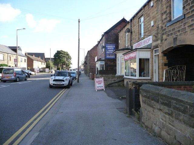 Barber shop and hairdresser's, Sheffield Road