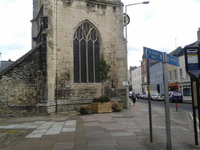 Westgate Street and St Nicholas' Church