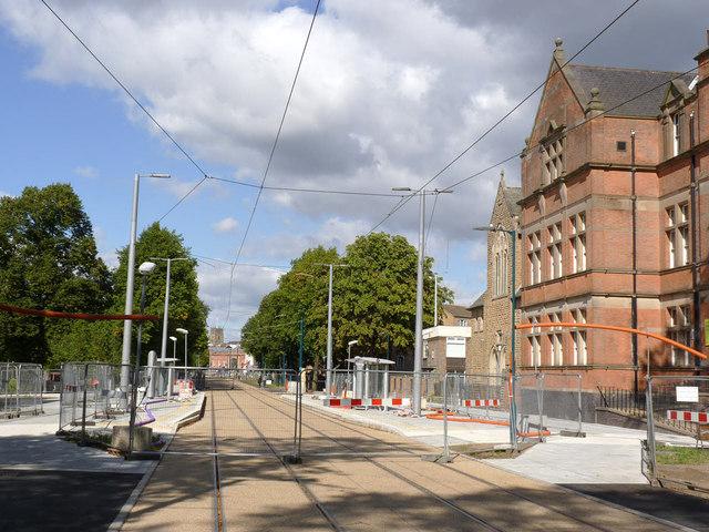 Meadows Centre tram stop