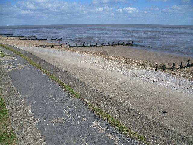 Low tide at Leysdown