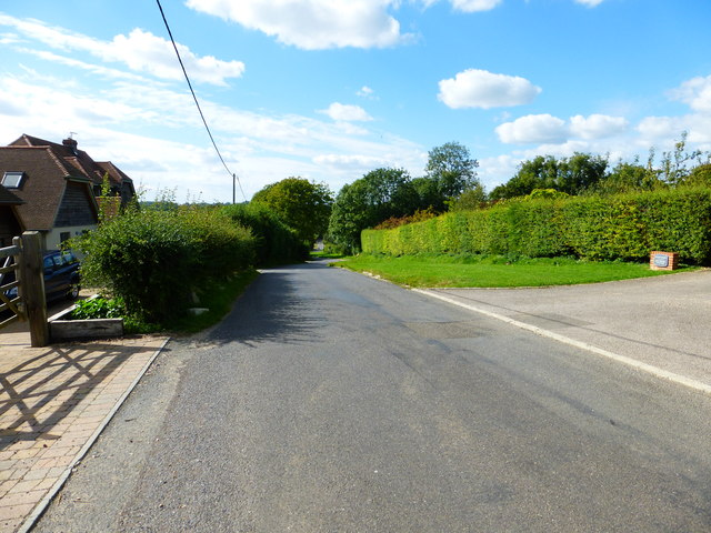 Looking west on Lees Hill