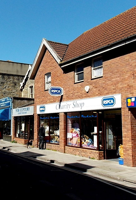 RSPCA charity shop in Clevedon