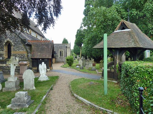 Shirley churchyard entrances