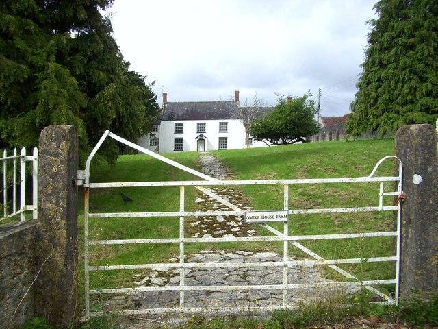 Court House Farm Gate