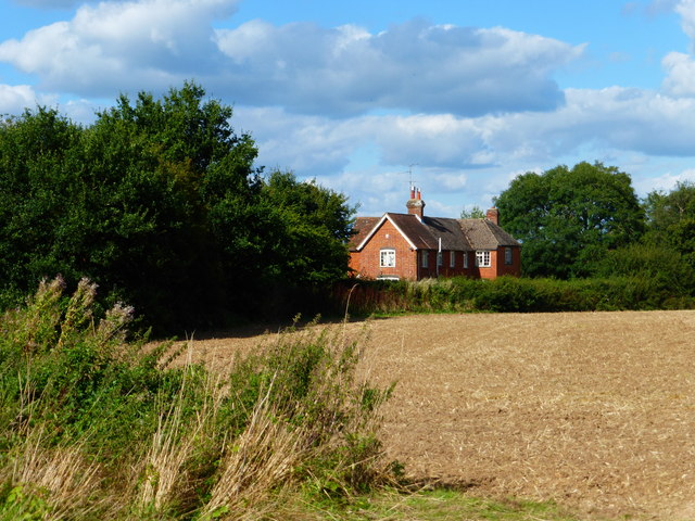 Bidden Cottage seen from footpath