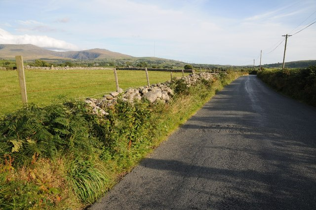 Country road near Penygroes