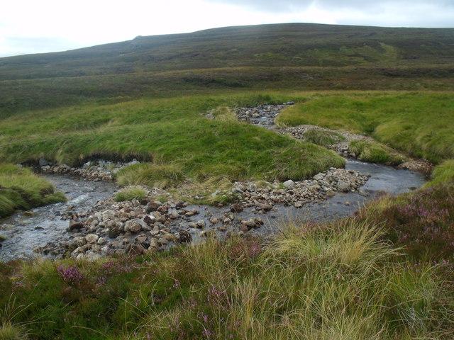 Meander on the Allt Eindart, Glenfeshie