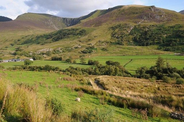 View to the Nantlle Ridge