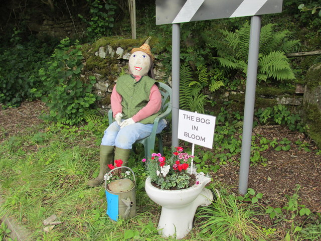 Bog farms contribution to the Scarecrow festival