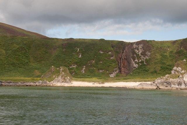 Port an Eas from the sea, Islay