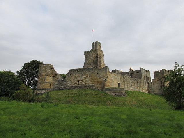 Prodhoe castle.