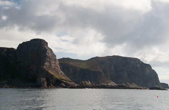 Dùn Athad and Beinn Mhòr, Islay