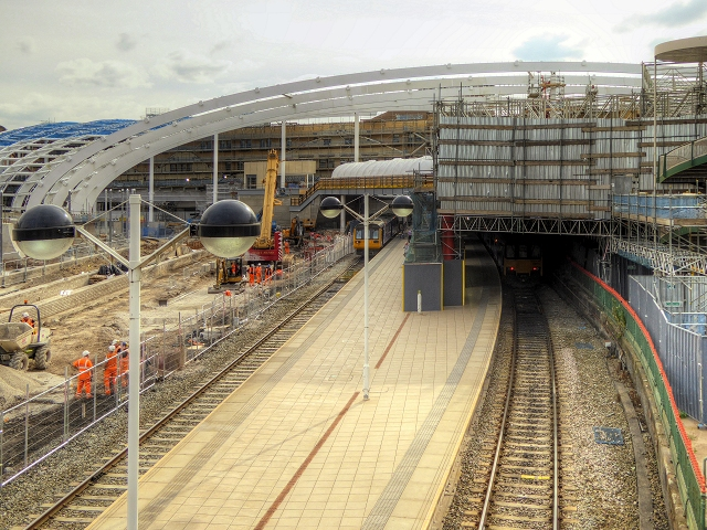 New Roof at Victoria Station
