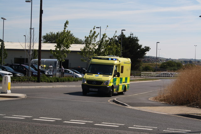 Ambulance, Mount Pleasant Business Park
