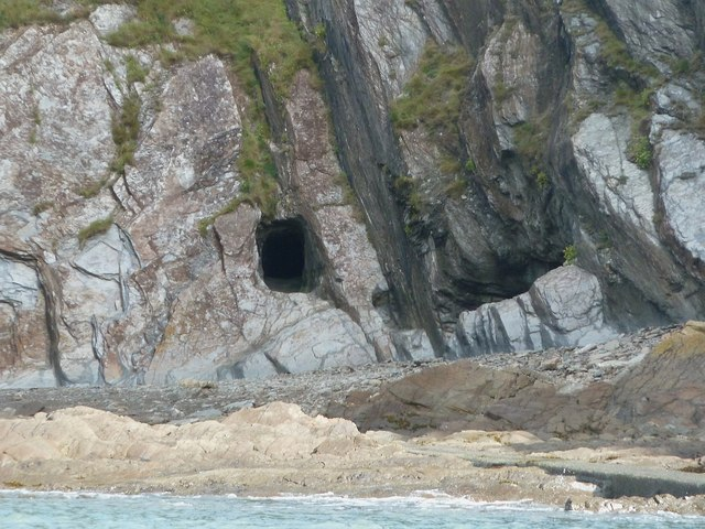 Entrance to abandoned silver mine, Combe Martin