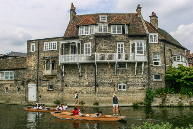 Punts on the Mill Pond