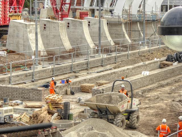 Victoria Station Building Work (August 2014)