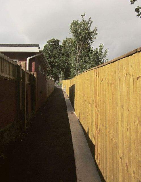 Path from Shiphay Lane