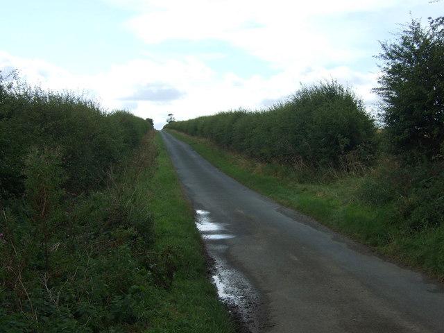 Uphill towards Boynton