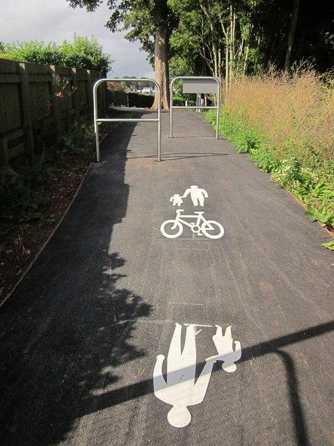 Dual use path, Shiphay