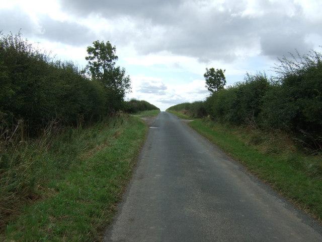 Minor road towards Boynton