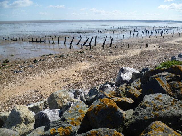 The beach at Shellbeach