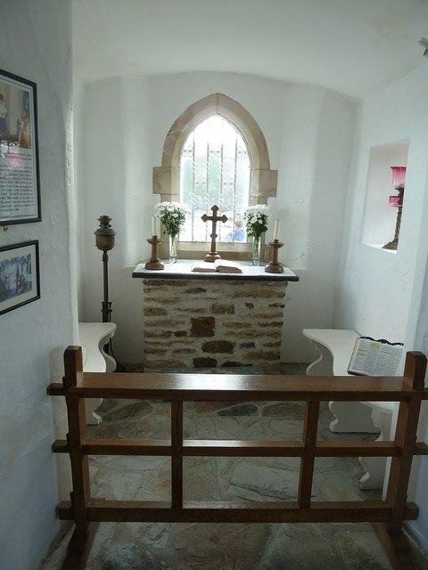 Altar, St Nicholas' Chapel, Ilfracombe