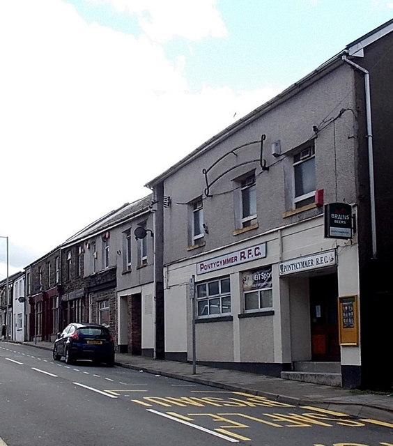Pontycymmer RFC social club, Pontycymer