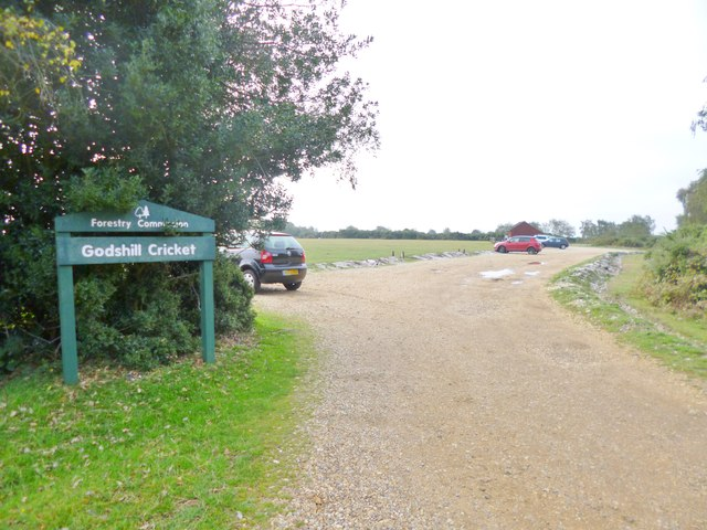 Godshill Cricket Car Park