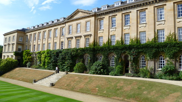 Part of Worcester College, Oxford