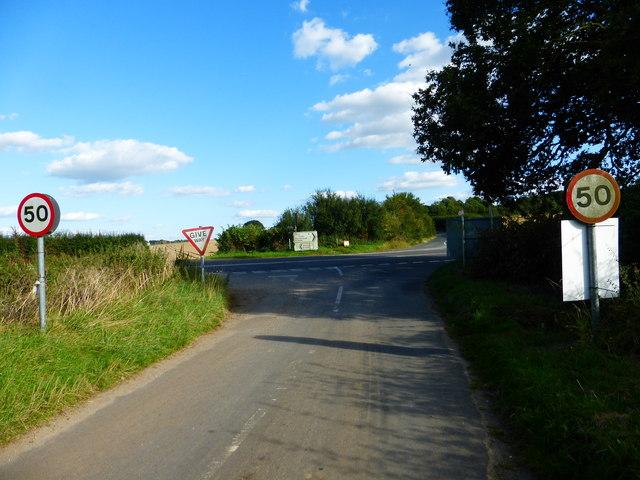 Ford Lane reaches the B3349