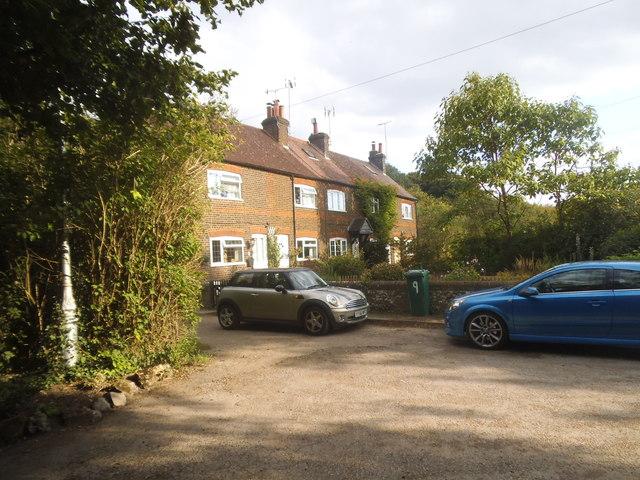 Cottages on Burydell Lane, Park Street
