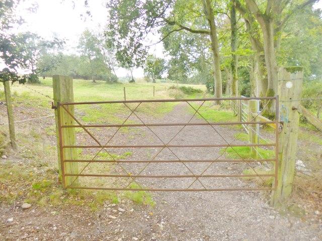 Godshill, gate