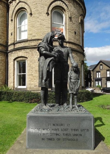 Mining Memorial in Barnsley