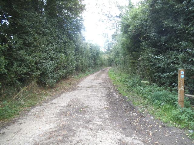 Track off Smug Oak Lane, Colney Street