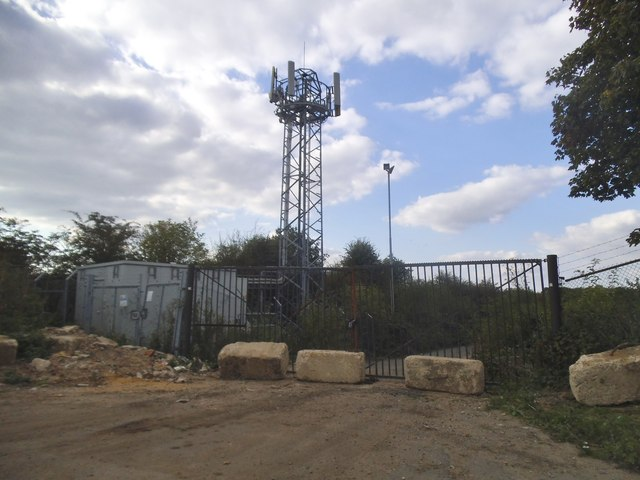 Radio tower by Smug Oak Lane