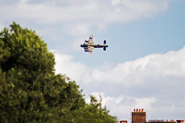 Bournemouth Air Festival 2014 - BBMF Lancaster