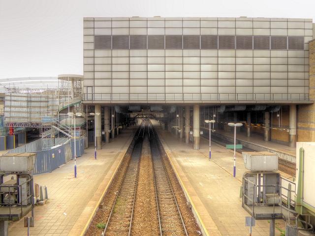 Manchester Victoria Station - August 2014