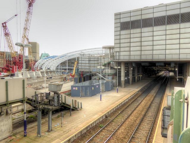 Manchester Victoria Station Redevelopment August 2014