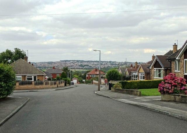 On Wibrook Rise, Redbrook, Gawber, Barnsley